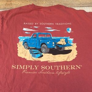 Simply southern t shirt large